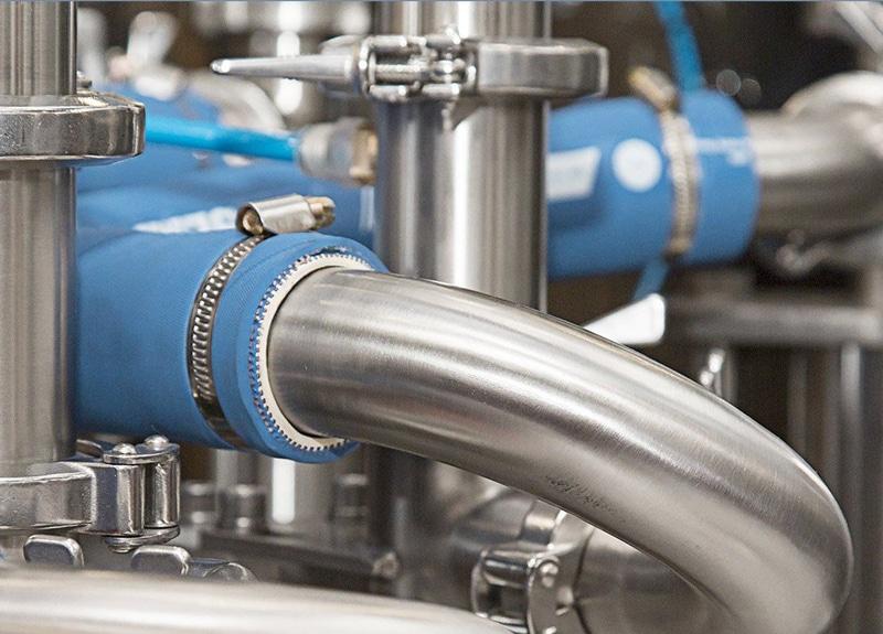 Tubos mecánicos industria lechera